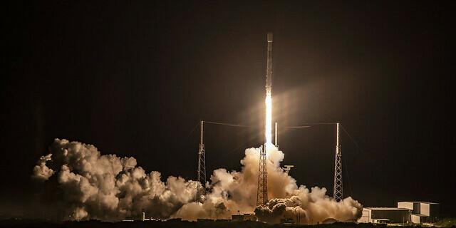 Lancement Falcon9 de SpaceX